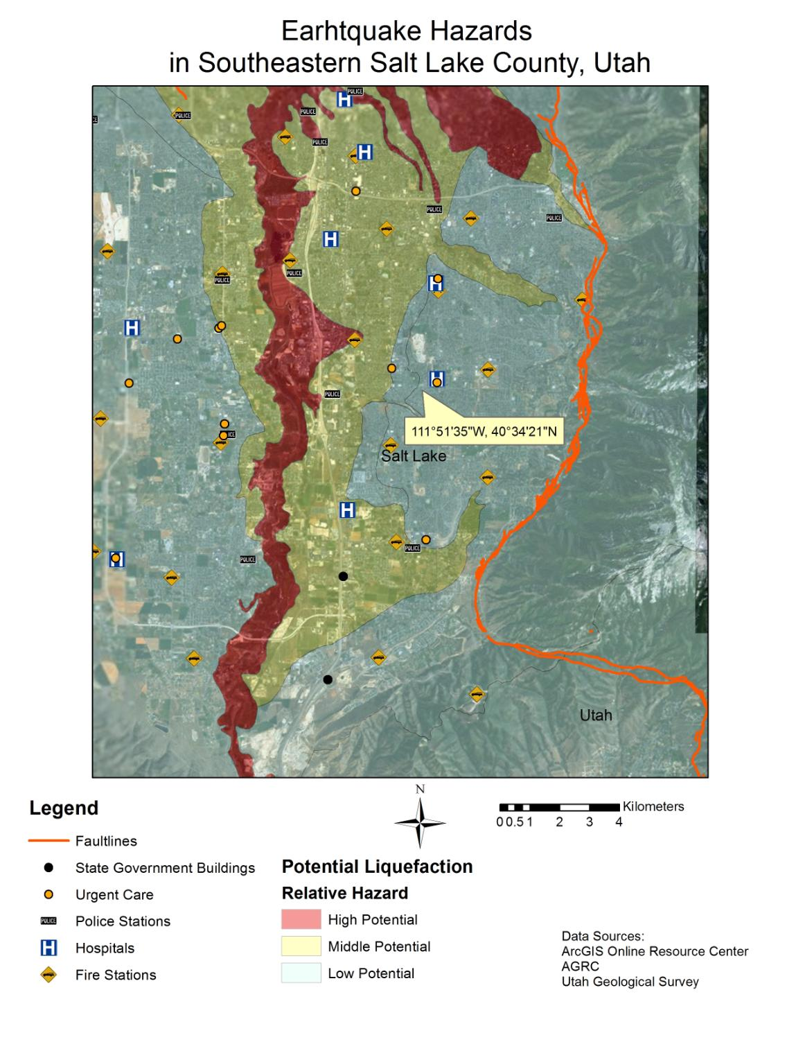 Earthquake Hazard Along The Wasatch Front